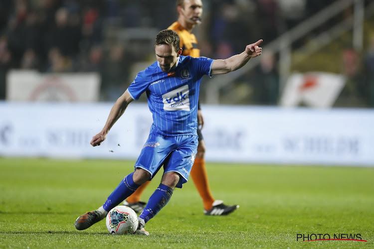 """Sven Kums : """"Heureux d'avoir signé à Gand, mais j'ai aussi vécu de belles choses à Anderlecht"""""""