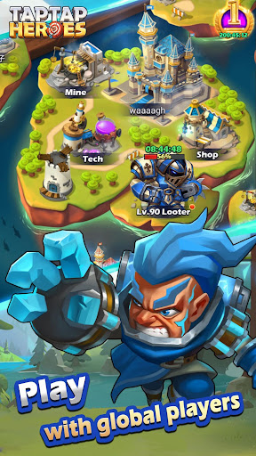 Taptap Heroes - screenshot