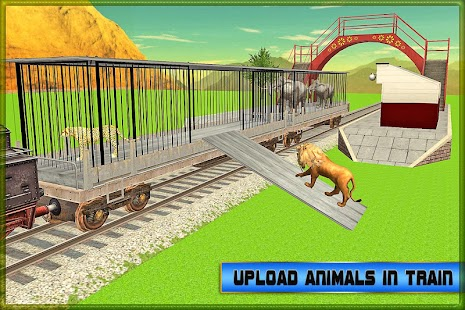 Transport Train: Zoo Animals- screenshot thumbnail