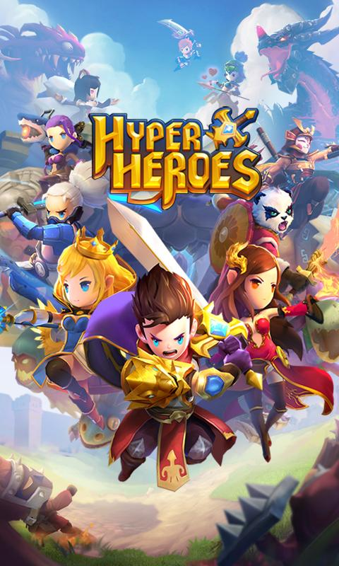 Hyper Heroes: Marble-Like RPG- screenshot