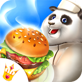 Panda Cooking Restaurant: Fast Food Madness Game