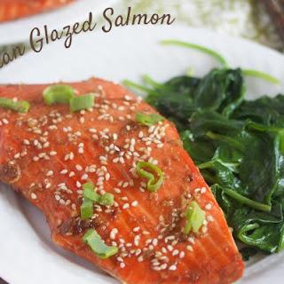 Sticky Asian Salmon