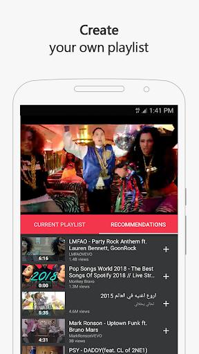 Free music for YouTube: MIXI 1.0.4 screenshots 5