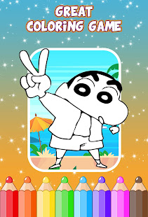 Shinchan Coloring Game - Apps on Google Play
