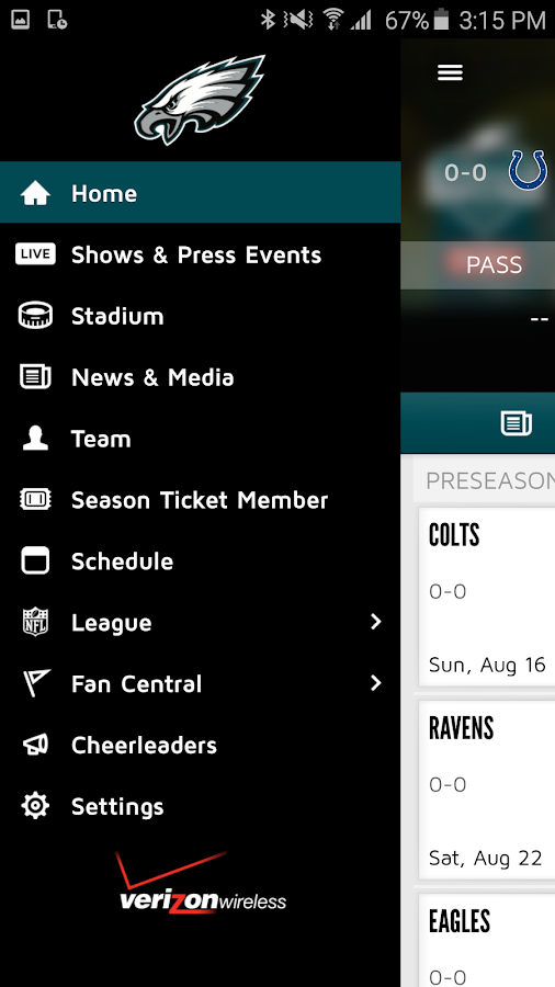 Eagles Official Mobile- screenshot