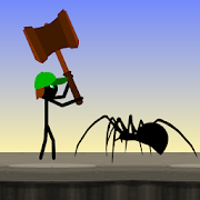Stickman vs Spiders