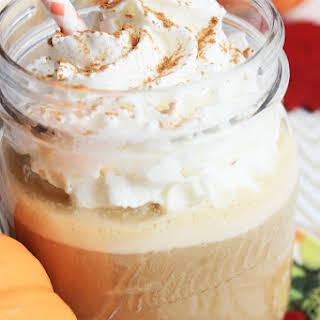 Pumpkin Maple Iced Coffee.