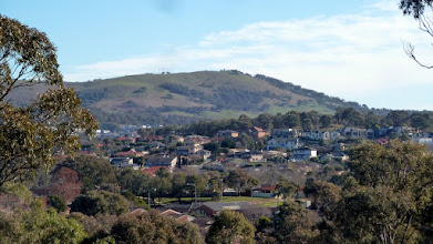 Photo: On Ngunnawal Ridge north end looking west to One Tree Hill