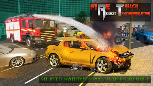 Robot Firefighter Rescue Fire Truck Simulator 2018 1.0.2 screenshots 2