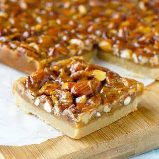 Honey Nut Cookie Bars.