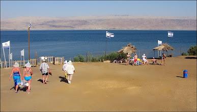 Photo: Мертвое море. Сверху вид вполне приличный.