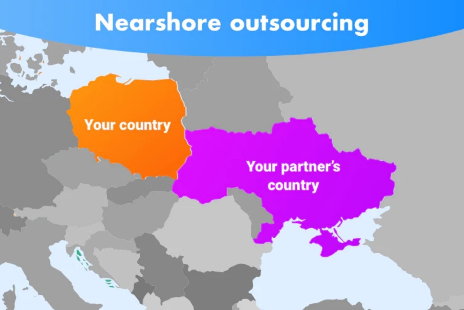 Nearshore outsourcing software development