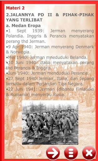 IPS Kelas IX Perang Dunia II 1.0.0 screenshots 2