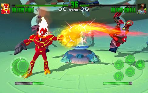 Hero Alien Force Arena Attack Mega Transform War 2