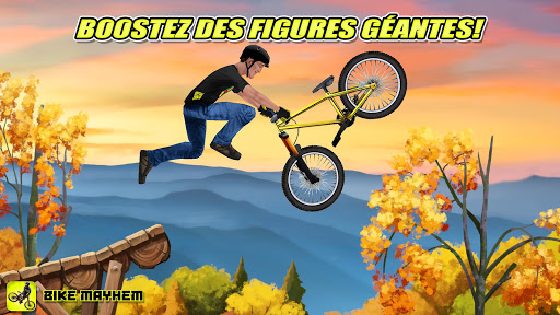 Bike Mayhem Mountain Racing APK MOD screenshots 2