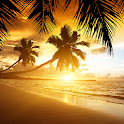 Beach Sunset Live Wallpaper icon
