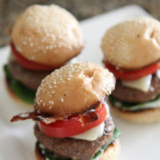 Bacon and Ranch Cajun Baby Cheeseburgers.