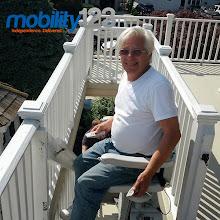 Photo: Happy Customer Outdoor Lift