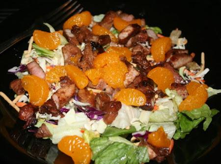 Asian Pork Tenderloin Salad Recipe