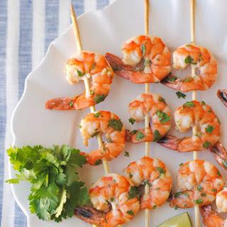 Margarita Shrimp Skewers