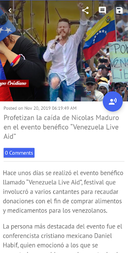 Noticias Cristianas - Cristianos Hoy Actualidad screenshot 3