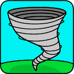 Twister Coloring Pages icon