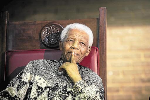 Former president Nelson Mandela. File photo.