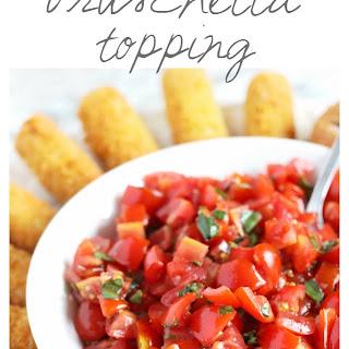 Simple Bruschetta Topping Recipe