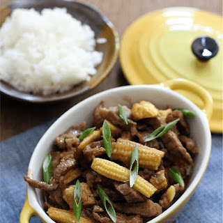Beef with Young Corn Recipe