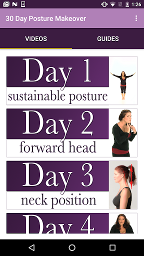 30 Day Posture Makeover screenshot 1