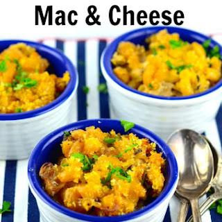 Wild Mushroom Vegan Mac & Cheese
