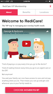 Redicare Clinics- screenshot thumbnail