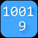Binary to decimal converter icon