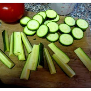 Oven Fried Low Calorie Zucchini