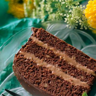 Schokoladenkuchen mit Schokominz-Creme