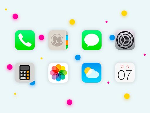 iOS 11 - Icon Pack 1.0.12 Screenshots 1