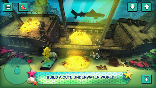 Mermaid Craft: Ocean Princess. Sea Adventure Games  screenshots 1