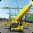 Cargo Ship Manual Crane 17