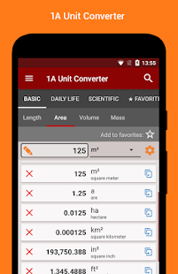 1A Unit Converter pro- screenshot thumbnail