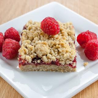 Raspberry Fruit and Oat Bars
