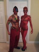 Photo: Halloween Couple