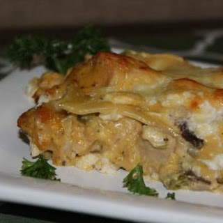 4 Cheese Chicken Lasagna