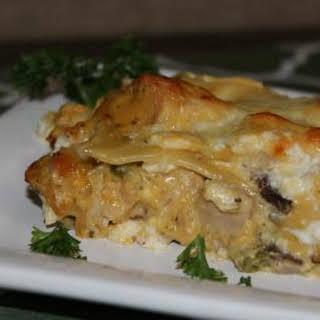 4 Cheese Chicken Lasagna.