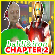 Scary Iron and Baldi Granny Chapter 2: Horror game