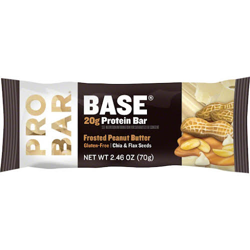Probar Base Bar: Frosted Peanut Butter, Box of 12