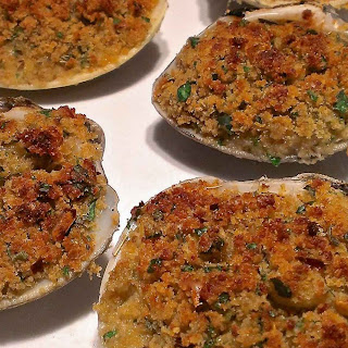 Baked Clams Oreganata Recipe