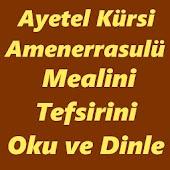 Ayetel Kürsi Amenerrasulü