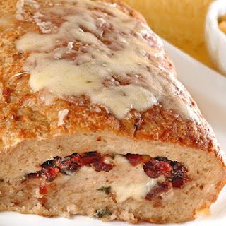 Jarlsberg and Cranberry Stuffed Turkey Meatloaf Recipe