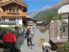 "Photo: Before we know it, we're in Winkelmatten, a ""suburb"" of Zermatt."