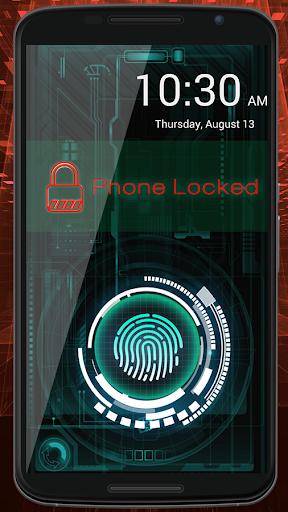 cerradura de la huella Prank screenshot 8